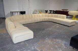 Big Sofas Sectionals Wonderful Large Sectional Sofa In The Manner Of Desede At 1stdibs