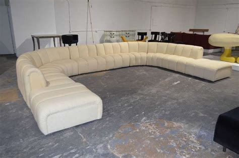 how big is a couch wonderful large sectional sofa in the manner of desede at 1stdibs