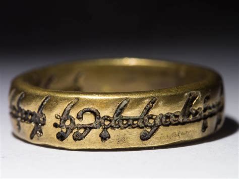 one ring the lord of the rings lotr brass size 20 us 10 25 handmade ebay