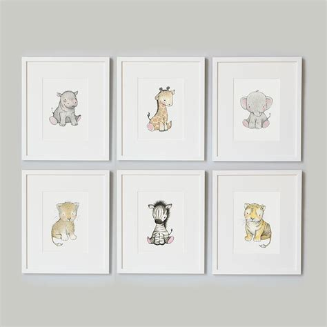 Animal Print Bedroom Ideas safari baby nursery print by daisy amp bump nursery art