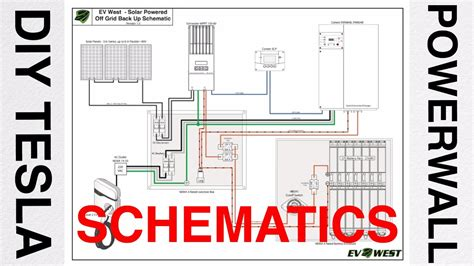 diy tesla powerwall talk 3 schematic diagram