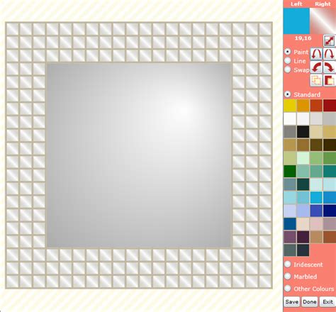 mosaic pattern software paintmosaic by kaamar new online mosaic tile design