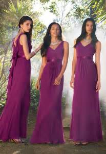 sangria colored dresses v neck purple bridesmaid dresses plum purple
