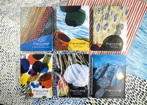 Virginia Woolf book covers, by Aino Maija Metsola