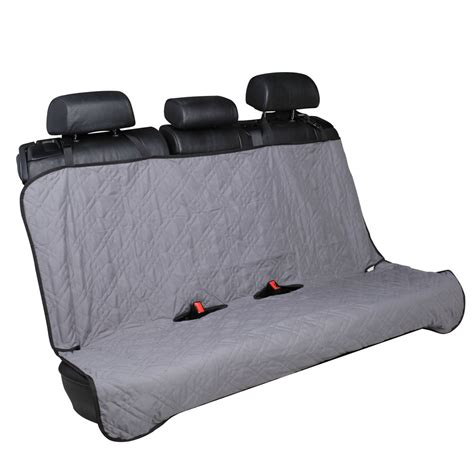 bench seat covers for dogs car back seat cover pet bench seat protector 55 quot x 47 quot grey ebay