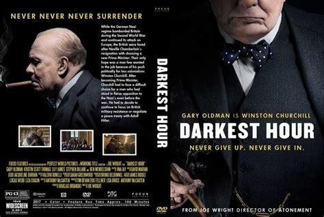 darkest hour dvd darkest hour 2017 dvd custom cover custom dvd cover