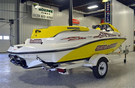 seadoo boat vin number sea doo bombadier sportster 4 tec 2004 for sale for 5 500