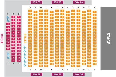 vic house seating plan the maltings theatre cinema berwick upon tweed