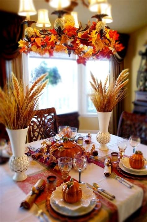 decoration autumn home fall decorating ideas home fall 30 cool ways to use autumn leaves for fall home d 233 cor