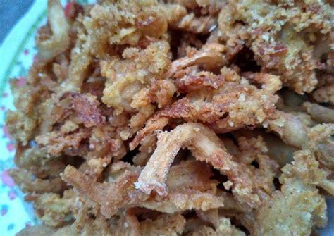resep jamur crispy oleh yantii deya cookpad