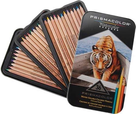 best colored pencils for artists 5 best watercolor pencils for artists