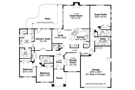 prairie home floor plans prairie style house plans crownpoint 30 790 associated