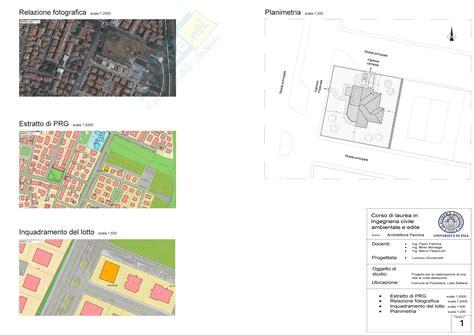 tavole architettura architettura tecnica tavole di progetto