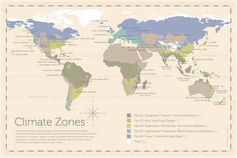 climate map climatic zones coloring pages