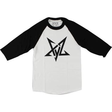 T Shirt Pentagram 3 xyz clothing pentagram raglan white 3 4 sleeve t shirt