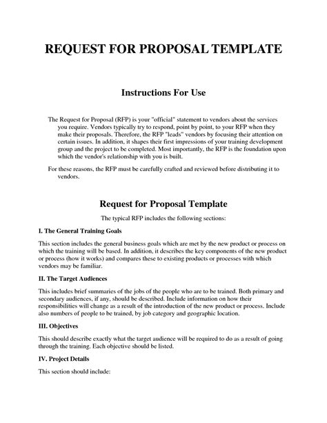 rfp format template loginnelkrivercom