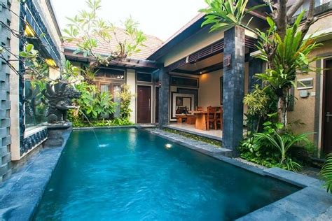 private pool villas  bali romance  luxury
