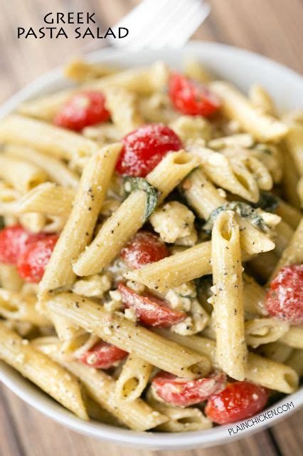 greek pasta salad the blond cook greek pasta salad seriously the best i could make a