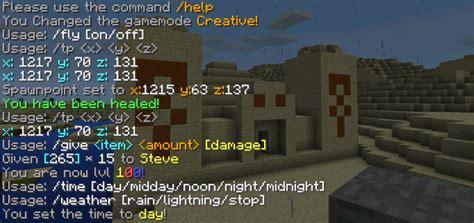 mod minecraft hack gamemode simplecommands mod minecraft pe mods addons