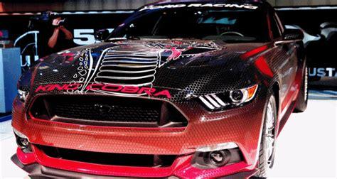 mustang gift 2015 ford mustang king cobra is 625hp factory parts cobra