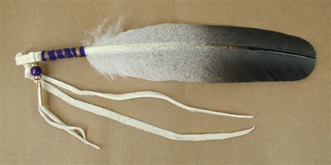 how to bead an eagle feather american lakota feather ceremonial hair ties