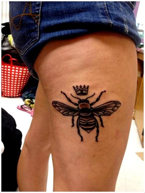queen bee tattoo ideas bee with crown tattoo www pixshark com images