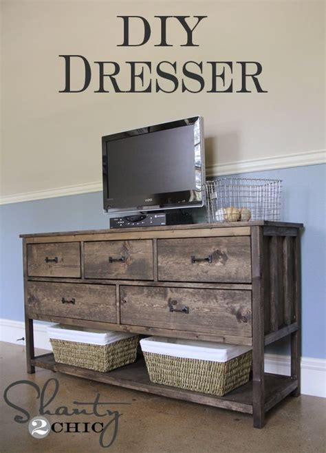 Diy Tv Stand For Bedroom 25 Best Ideas About Pallet Dresser On Crate