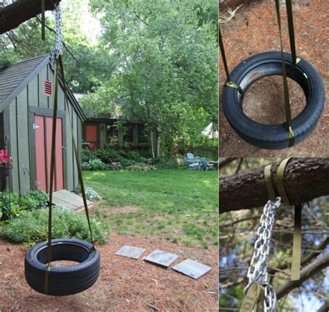 how to build tire swing diy tire swing do it yourself fun ideas