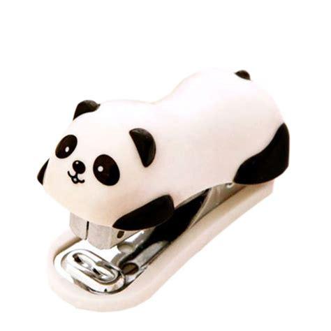 mini stapler panda mini desktop stapler staple stapler office home stapler e7188 in