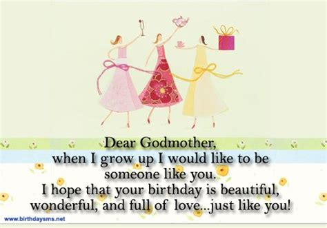 Godmother Cards Birthday Happy Birthday Godmother Quotes Quotesgram