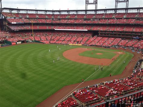 section 368 a busch stadium section 368 rateyourseats com