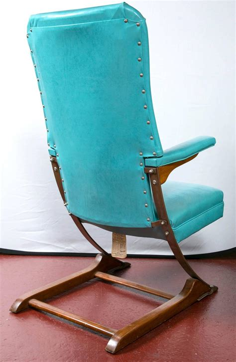 Rocking Chair Springs by Set Of Six Blue Mid Century Mckay Rocker Rocking