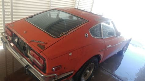 1971 datsun 240z parts 1971 datsun 240z project or parts car in arizona classic