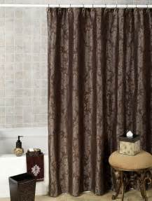 Best Fabric For Curtains Inspiration Brown Fabric Shower Curtains Inspiration Decorating Image Mag
