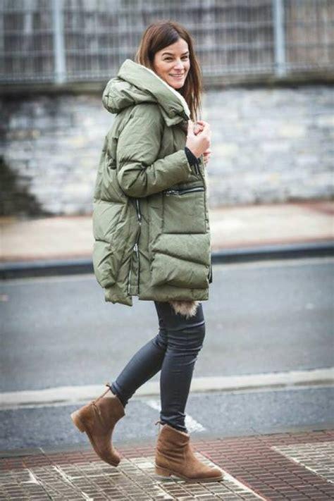 wear  puffy jacket  winter  trendy girls