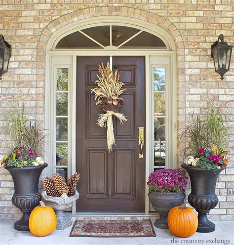fall front porch decorating ideas  creativity exchange