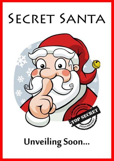 printable santa poster 39 best secret santa images on pinterest christmas cards
