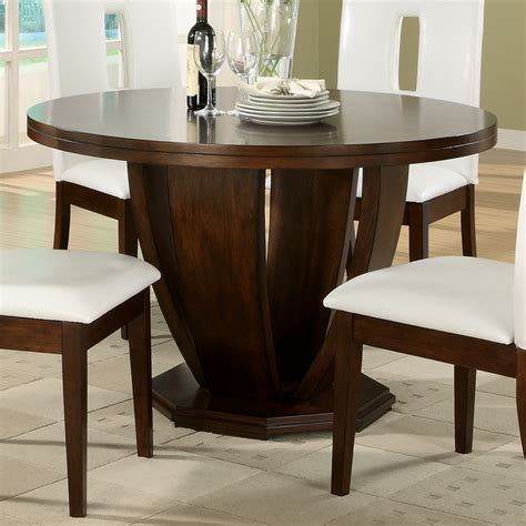 Cherry Kitchen Tables Homelegance 1410 48 Elmhurst Dining Table Brown Cherry