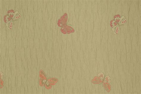 Butterfly Upholstery Fabric Papi Butterfly Tapestry Upholstery Fabric In Moss