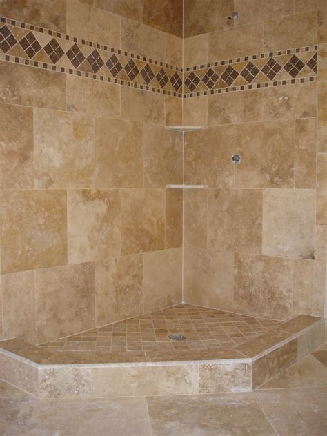 bathroom travertine tile design ideas tile tek tile custom tile designs