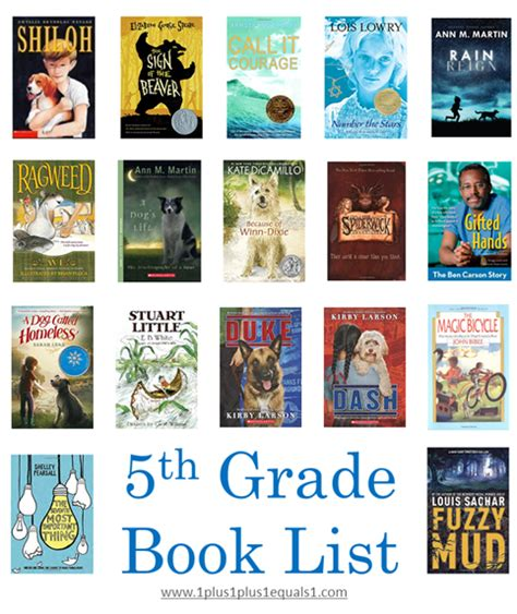 picture books for 5th graders 5th grade reading list update 1 1 1 1