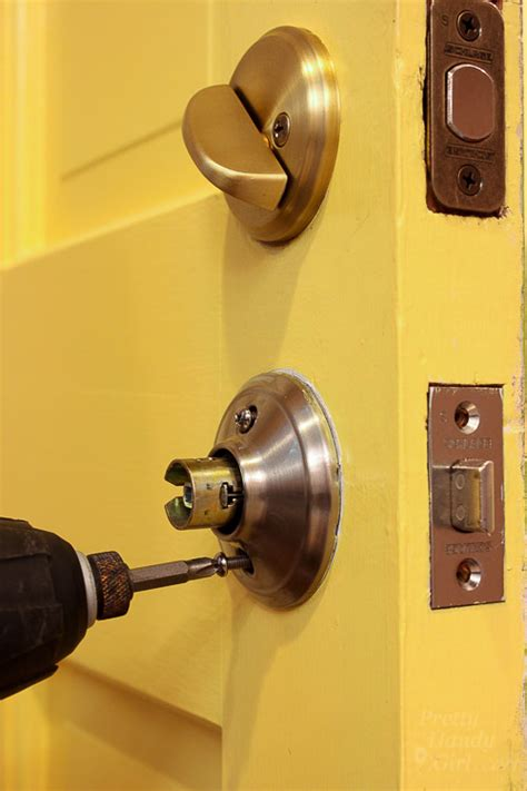 How To Replace A Front Door Knob by Replace Door