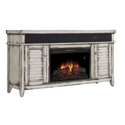 simmons electric fireplace entertainment center in country