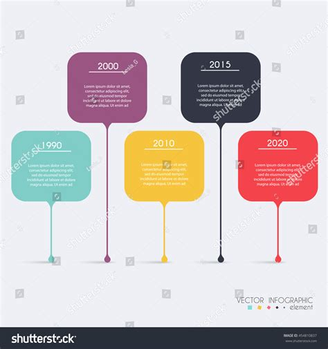 infographic and diagram design elements vector timeline infographic design templates charts diagrams