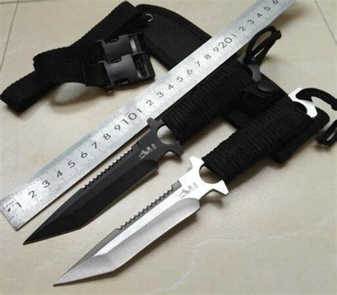 shnapign haller knife stainless steel diving knife outdoor survival cing