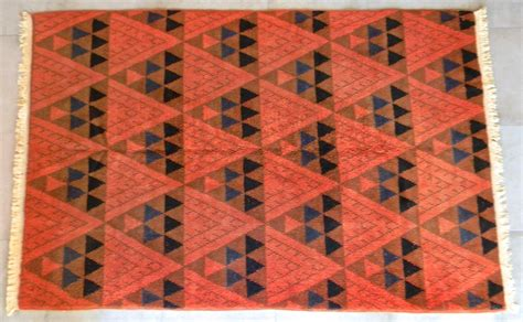 mid century area rugs vintage mid century modern turkish area rug collectors weekly