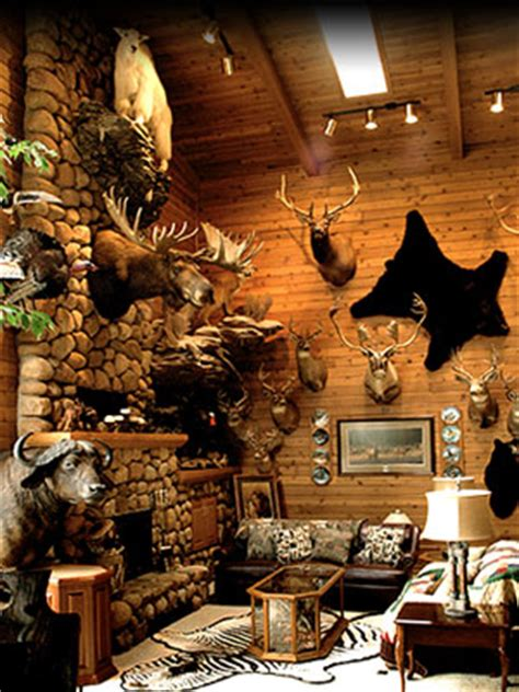 big trophy rooms taxidermy minnesota wildlife minnesota world class