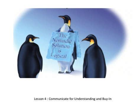 kotter buy in lesson 4 communicate for