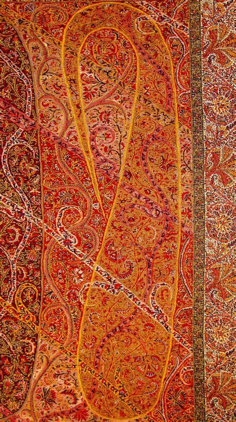 Pashmina Motif Kashmir Paisley Shawl And Its Enduring Contribution To The