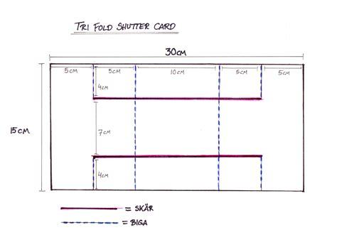 tri shutter card template 7 best images of tri fold card tutorial tri fold card
